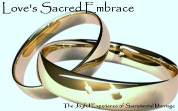 Love's Sacred Embrace Masthead