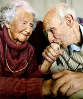 old-couple in love