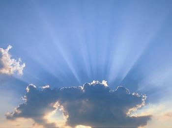 God in sky