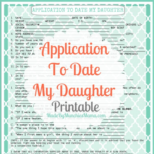 Date my daughter